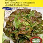 Lettuce seeds Butterhead Quattro Stagione