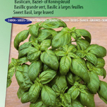 Basil, Sweet Large leaved (Ocimum basilicum)