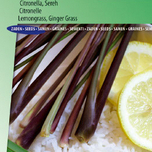 Lemongrass, Ginger Grass, Citronella / Sereh