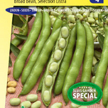 Broad bean Threefold white selection Listra