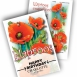 Poppy Personalized Printed Seed Packets - 500 pieces