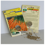 Carrot seeds Nantes 2 Topfix (Halflong Summer and Autumn) PELLETED