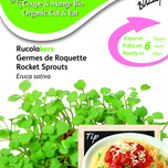 Bio Cut & Eat Rocket (Eruca Sativa)
