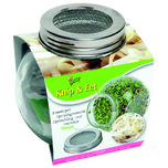 Bio Cut & Eat Mung Beans - Sprouting jar glass