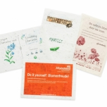 Plantable Paper A6 Personalised - Herb Mix