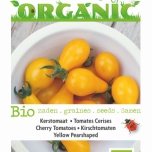 Bio Cherry Tomatoes Yellow Pearshaped