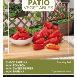 Paprika Snacking Red - Buzzy Patio Vegetables